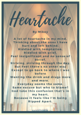 Heartache poem by Mikey