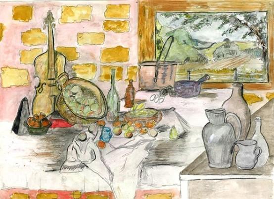 Watercolour Still Life