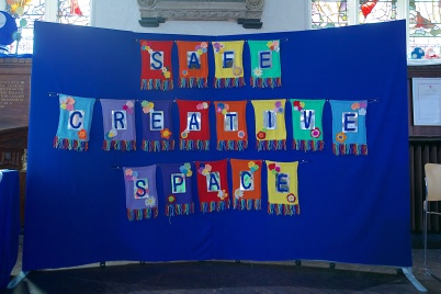 August 2017 Safe Creative Space banner