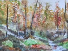 Autumn Watercolour