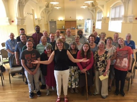 Choir together June 2017