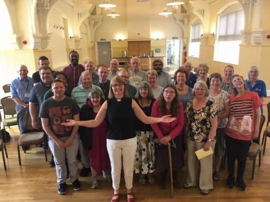 Choir together June 2017
