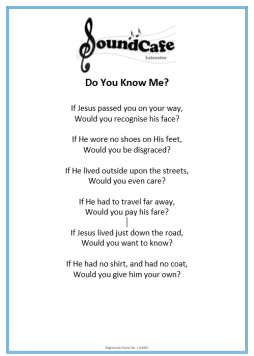 Do You Know Me Poem