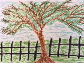 Tree Crayon